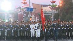 解放軍儀仗大隊參加白俄羅斯國慶閱兵式