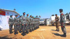 中國第22批赴剛果(金)維和醫療分隊獲戰區司令嘉獎