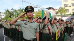 武警广西总队钦州支队:让红色基因代代相传