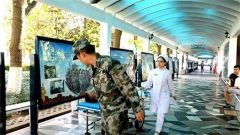 北部戰區總醫院成功搶救一名患熱射病武警戰士