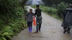 多地連降暴雨 官兵緊急投入抗洪搶險