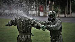 武警官兵开展防化救援应急演练 提升实战能力