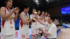 軍運會女子籃球測試賽八一女籃輕取冠軍