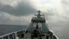 海军护卫舰支队组织实弹射击训练