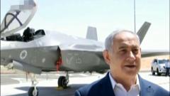 以色列总理在F-35战机前对伊朗发出军事威胁