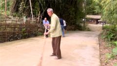 退伍不褪色 85岁退伍老兵黄显秀10年如一日助力乡村建设