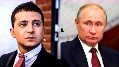 普京与乌克兰总统泽连斯基首次通话