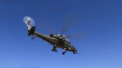 陆军第76集团军某陆航旅展开首次直升机高原实弹射击训练