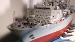 """军迷自制海上""""巨无霸""""903A舰模 没有图纸也可以做得逼真"""