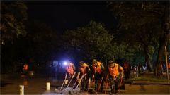 广西柳州、湖南株洲:武警官兵连夜展开清淤排险工作