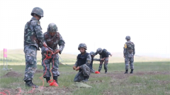 陆军第81集团军某旅工兵分队:战场氛围磨砺爆破硬功