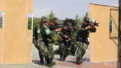 武警甘肃总队天水支队:群众性大比武展示实战风貌