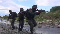 新疆塔城:特戰隊員極端環境下反恐作戰