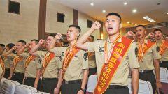 到一线作战部队去 !军校毕业学员火热军营书写奋斗青春