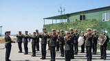 俄波罗的海舰队军乐队奏乐