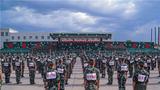 近日,一场战味儿十足的军体运动会在武警新疆总队机动第四支队激情开赛,来自该支队的7支代表队、300余名参赛队员同台竞技,在20多个比赛项目中展开了激烈角逐。