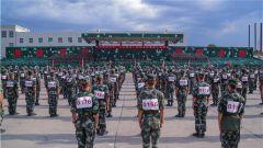 武警新疆总队:军体运动会热血来袭