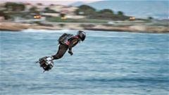 飛行滑板: 亮相反恐戰場為時尚早