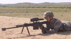 射擊目標被白布遮擋 戰士四發三中命中率高