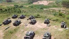陸軍某旅多兵種實戰對抗 檢驗合成營戰斗效能