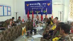 【国际军事比赛-2019】库尔勒赛区:全新升级的裁评系统助力赛事更加公平公正