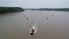 陆军第82集团军某旅:组织舟桥分队开展防汛救灾演练