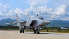 俄国防部公布米格-31截击机近太空飞行视频