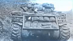 二战时期 各国为什么要在坦克上挂满麻袋水桶原木车胎?