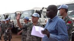 南苏丹:中国维和步兵营高标准通过联合国装备核查