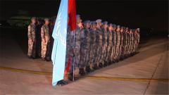 中国赴苏丹达尔富尔维和直升机分队归建
