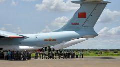 中国第二批赴苏丹达尔富尔维和直升机分队完成任务回国