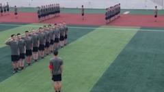 重庆:役前训练 好男儿志在军营