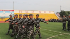 河南:军营第一步 役前训练