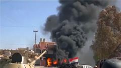 伊拉克什叶派民兵据点遭袭 致2死1伤