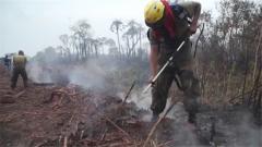 【亚马孙雨林大火】玻利维亚政府派出军队投入灭火