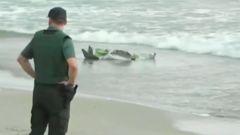 西班牙一巡逻机坠海 飞行员身亡