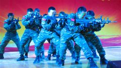 难忘军旅 无悔青春丨武警甘肃总队机动支队举办欢送老兵文艺汇演