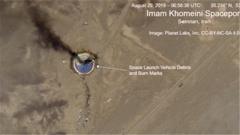 伊朗火箭发射失败 特朗普:与美国无关