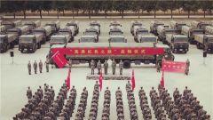新疆军区某汽车运输团:高原运输线上的主题教育活动
