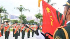 广西北海:告别军旗,致敬军旅