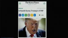 防卫费分担分歧大!韩媒:韩国是特朗普的自动提款机吗?