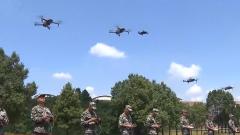 湖南永州 500多名民兵展开军事训练比武
