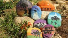 石头绘画 记录别样的家国情怀
