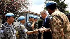 联合国副秘书长拉克鲁瓦视察联刚稳定团南部战区