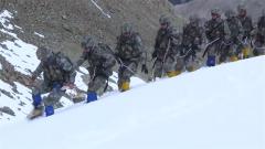 高寒缺氧饥渴 特种兵雪域高原挑战极限超越自我