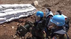 中国第18批赴黎维和部队支援友军扫雷排爆