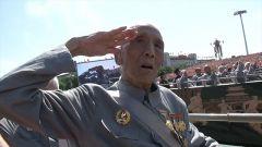 【第一军视】泪目!抗战胜利70周年阅兵式上 他们一出场全场沸腾