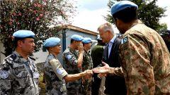 联合国副秘书长拉克鲁瓦一行前往联刚稳定团南部战区视察