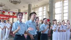 海军:文艺小分队送别驻京部队退役士兵
