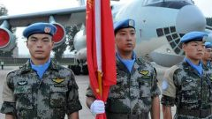 中国第15批赴苏丹达尔富尔维和工兵分队完成联合国超级营地防御设施升级改造任务